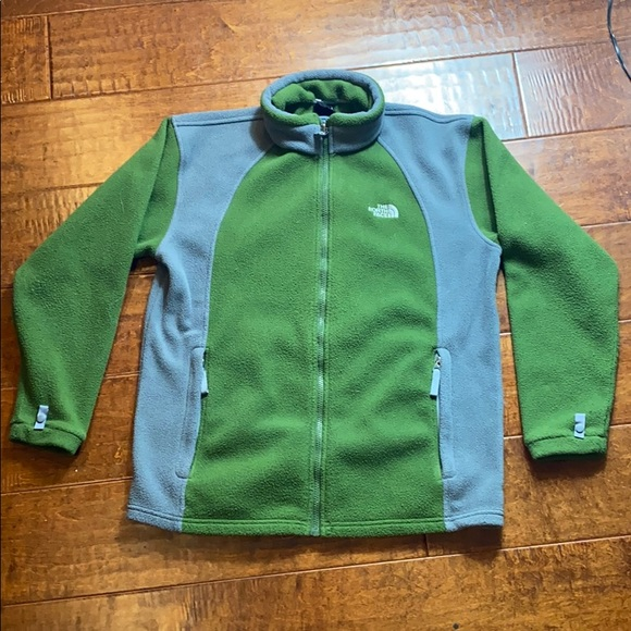The North Face Jacket - XL boys - Green,Gray
